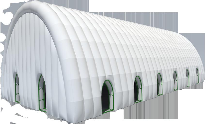 Надувное пневмокаркасное здание сооружение TENTER