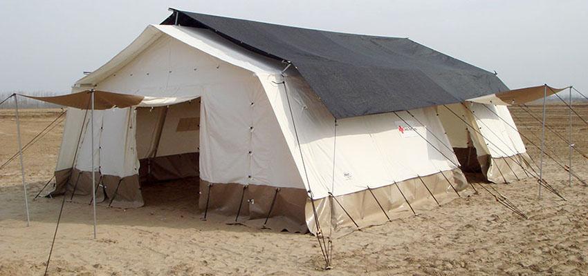 Многоцелевая каркасная палатка для военных, спасателей, медиков TENTER КП-45
