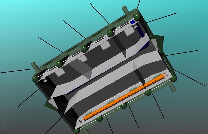 Разделение на комнаты универсальной надувной палатки с пневмо-металлическим каркасом TENTER HFT-60-104