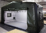 Военная надувная пневмокаркасная палатка TENTER ПКП-60-30 для армии Италии