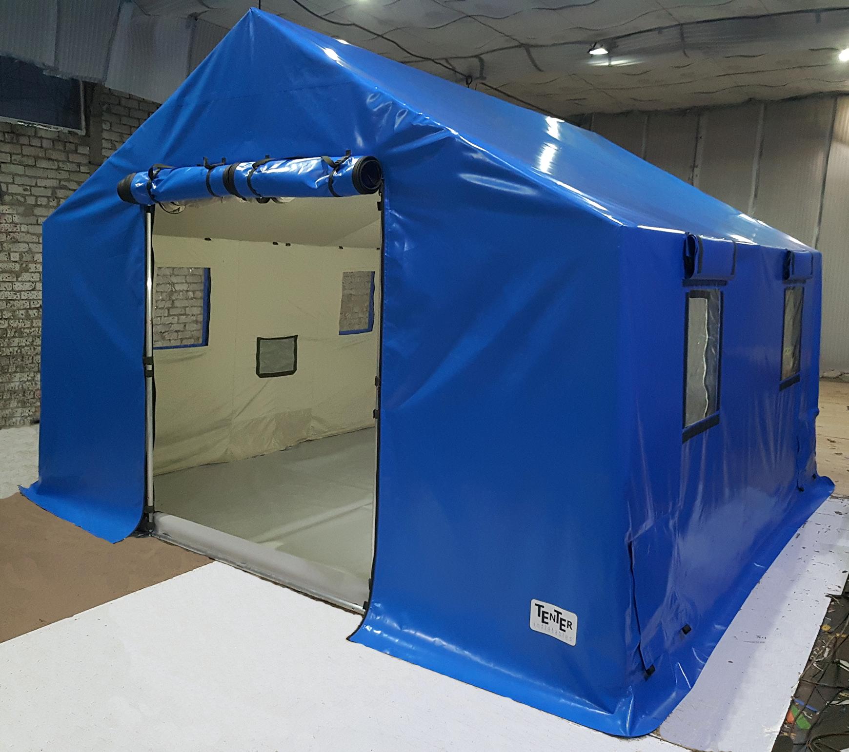 Универсальная военная спасательная каркасная палатка TENTER AFT-40-40
